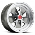 1965-67 16x8 Alloy Charcoal Mustang Legendary Allow Wheels