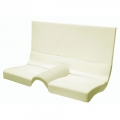 1965-70 Fastback Seat Foam Folding Rear Seat