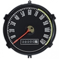 1967-68 Mustang Speedometer Gauges W/O trip, Black 120 Mph