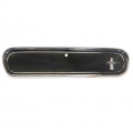 1965 Reproduction Glove Box Doors With Emblems, Standard Interior, Camera Case Black