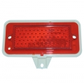 1971-73 Side Marker Lamp Assembly, Rear RH