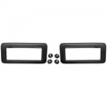 1971-73 Side Marker Lamp Bezel, Rear Pair