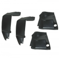 1969 Front Fender Splash Shield Set of 4, Plastic
