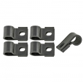 1967-68 Under Hood Turn Signal Wiring Clip Kit 5 Piece Kit, Black