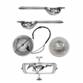 1965 GT MUSTANG FOG LAMP BAR KITS, (65 GT Grille Required)