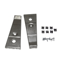 1966 GT Grille Fog Lamp Bat Mounting Bracket Pair