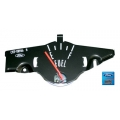 1969-70 Mustang Fuel Gauges  W/O Tach Fuel Only, Black