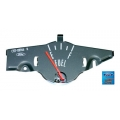 1969-70 Mustang Fuel Gauges W/O Tach Fuel Only , Grey