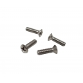 1968-73 Door Handle and Window Crank Screw, Set of 4