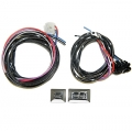 Power Window Conversion Kit 2 Window Switch/Wiring Kit, Chrome