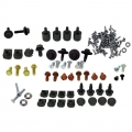 Fastback Folding Seat &Trap Door Hardware Kits 1967, 126 Pieces