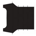 Mustang Headliner, 1965-68 Coupe, Black