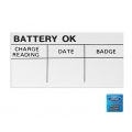 1965-73 Assembly Line Battery Inspection Decal