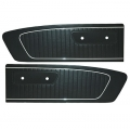 1965 Standard Door Panels, Black