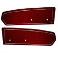 1968 Maroon Standard Door Panels