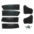 1966 Black Coupe Door Panel Kit