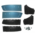 1966 Blue Coupe Door Panel Kit
