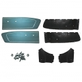 1966 Turquoise Coupe Door Panel Kit
