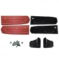 1967 Red Coupe Door Panel Kit