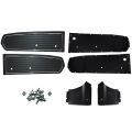 1968 Black Coupe Door Panel Kit