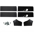 1969 Black Coupe Door Panel Kit