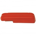 1971-73 Standard Arm Rest Pad, Red, LH