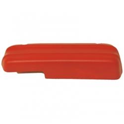 1971-73 Standard Arm Rest Pad, Red, LH