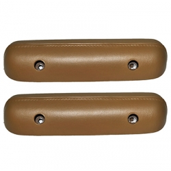 1967 Standard Arm Rest Pads, Saddle Pair