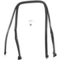 1967-68 Roof Rail Seals (Fastback)