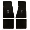 94-98 Floor mats, Black w/Cobra Emblem
