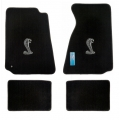 94-98 Floor mats, Black w/Cobra Emblem (Coupe)