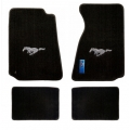 94-98 Floor mats, Black w/Silver Pony Emblem (Coupe)