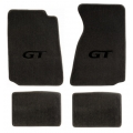 94-98 Floor mats, Grey w/Black GT Emblem