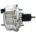 "1964-1966 7"" CHROME SINGLE DIAPHRAGM BRAKE BOOSTER."