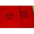 64-73 Floor Mats, red w/Boss302 Emblem (Convertible)