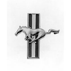 1965-66 Reproduction Glove Box Emblem