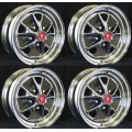 "1965 RALLY WHEELS 14""X 5"" - SET OF 4"