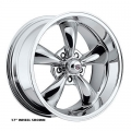 "1965-73 MUSTANG REV CLASSIC WHEEL 16""X 7"" EACH - CHROME"