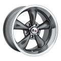 "1965-73 MUSTANG REV CLASSIC 100 WHEEL 17""X 7"" GRAY EACH"