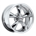 "1965-73 MUSTANG REV CLASSIC 100 WHEEL 17""X 9"" EACH - CHROME"