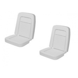 1968 Std/Dlx Seat Foam-Pair Buckets