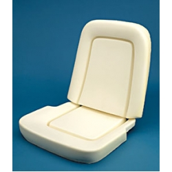 1967 Std/Dlx Seat Foam-Pair Buckets