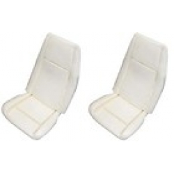 1969 Std/Dlx Low Back Seat Foam-Pair Buckets