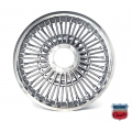 1965-70 WIRE WHEEL COVER WITHOUT SPINNER - EACH