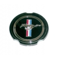 1970-73 MUSTANG CENTER EMBLEM FOR SIMULATED MAG HUB CAP