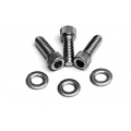 1965-73 VALVE COVER DRESS-UP BOLTS - ALLEN HEAD, PACKAGE OF 12, USE WITH STEEL COVERS