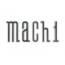 1970 Mach 1 Rocker Emblem Set