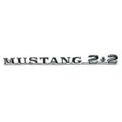 "1965-66 ""Mustang 2+2"" Name Plate"