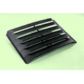 1971-73 2+2 REAR WINDOW LOUVER