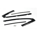 1965-66 FRONT DOOR VENT WINDOW WEATHERSTRIP - PAIR